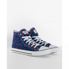 LINDY BOP HI TOP CHERRY POLKA