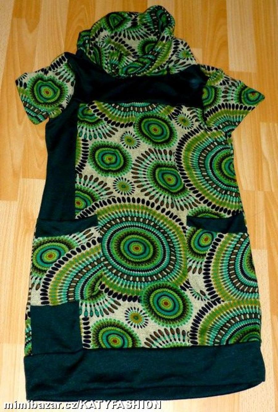 88542659aeab Luxusní úpletové šaty tunika PURPLEJAM